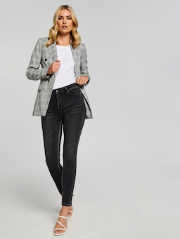 The Charming Check Blazer