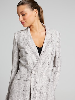 Take Me Everywhere Snake Blazer
