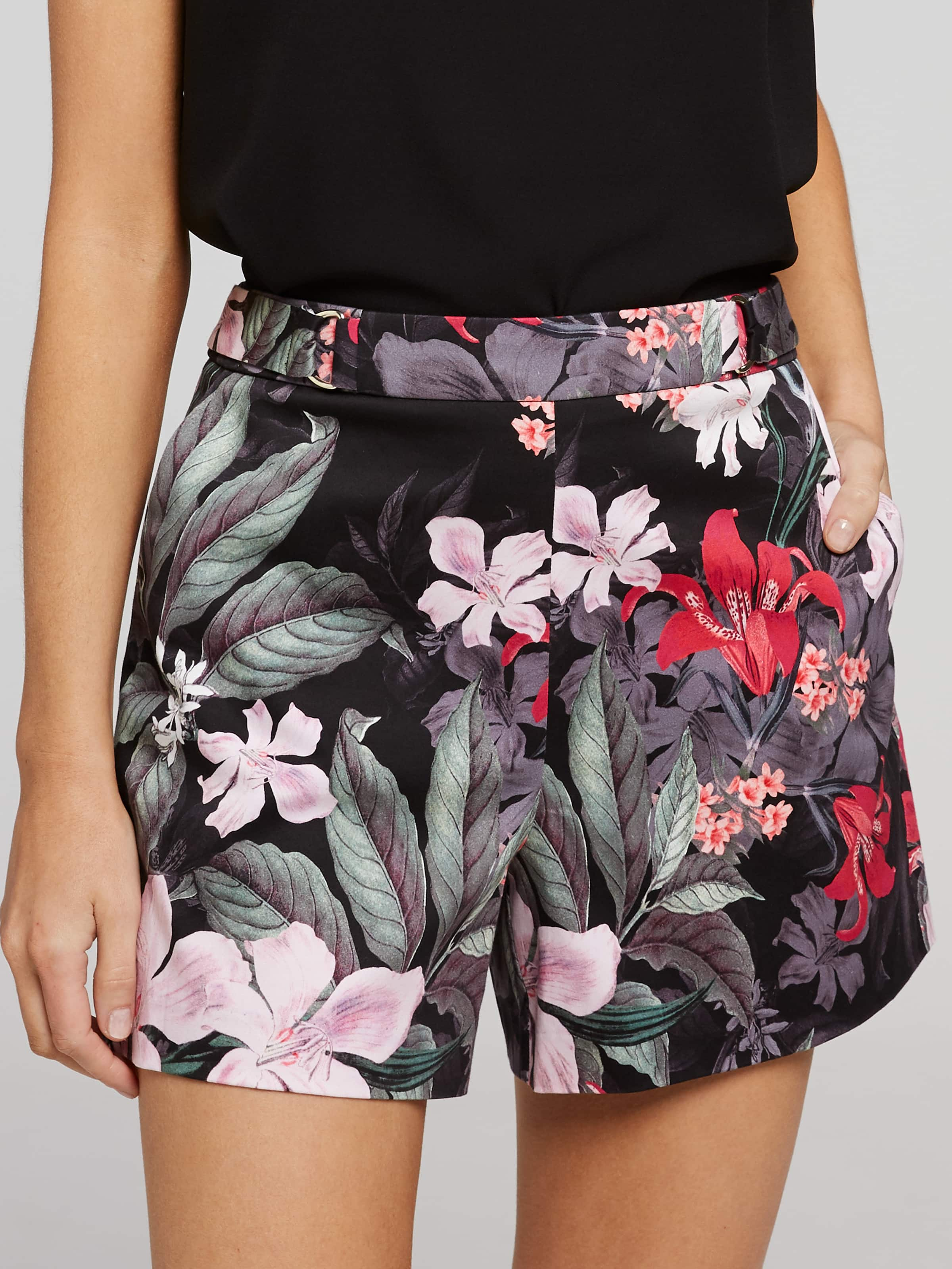bd534f2f6ac4a ... Image for Molly Mid Rise Sateen Short from Portmans Online