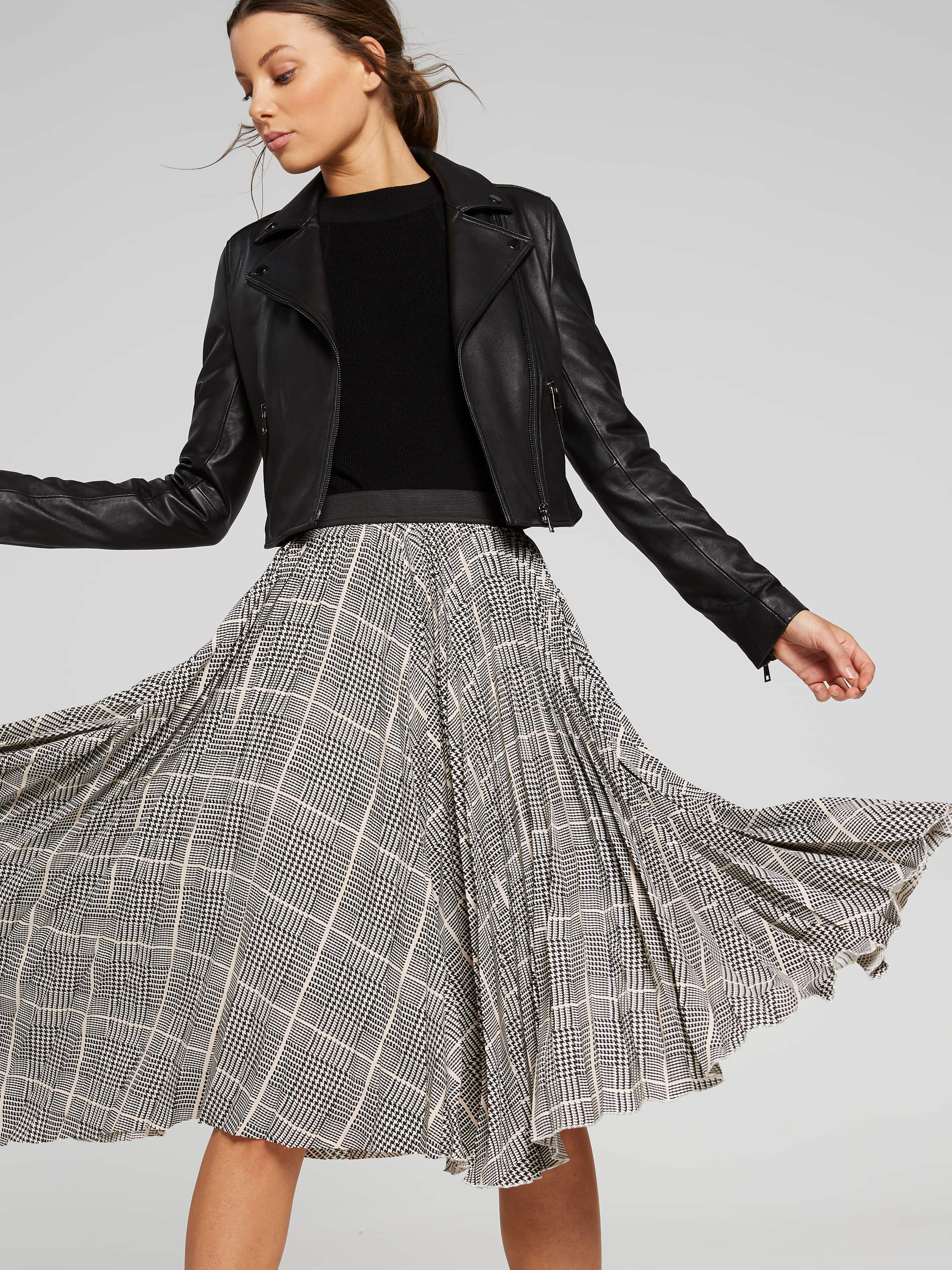 338a4014e5 Image for Check It Out Pleated Skirt from Portmans ...