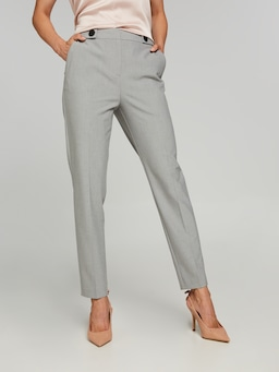 The Leader Grey Suit Pant
