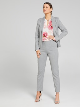Sign Here Grey Suit Blazer