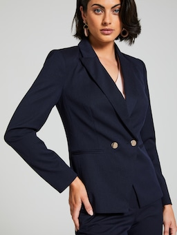 All Business Navy Suit Jacket