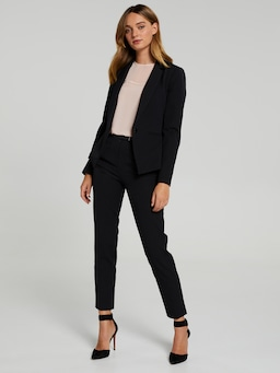 Above Board Navy Suit Pant