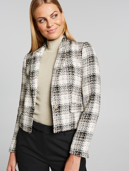 Bursting With Joy Boucle Blazer
