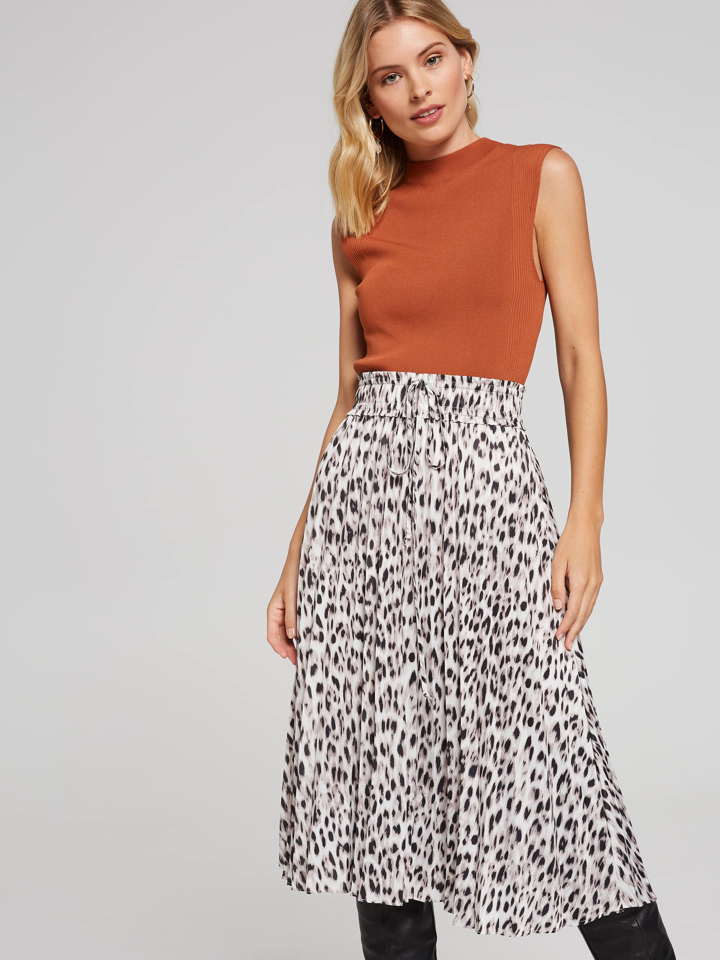 ... Image for Perfectly Pleated Skirt from Portmans 786fe1cd8