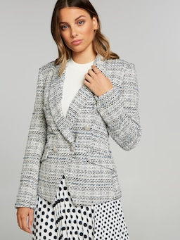 To Pick Me Up Boucle Blazer