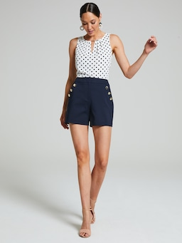 Bianca Button Short