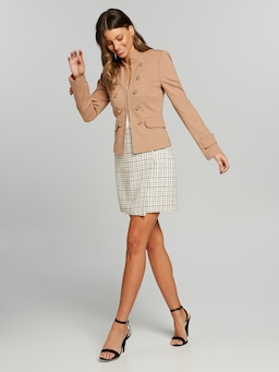 Better Together Boucle Skirt
