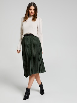 Its You Animal Pleated Skirt