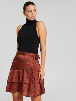 I Found You Ruffle Skirt