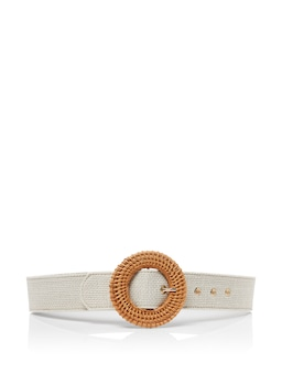 Menorca Rattan Buckle Belt