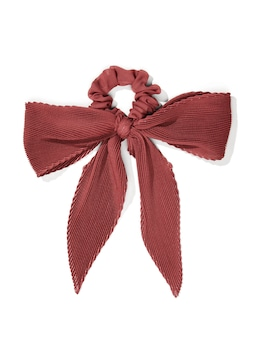 Pleat Bow Hair Tie