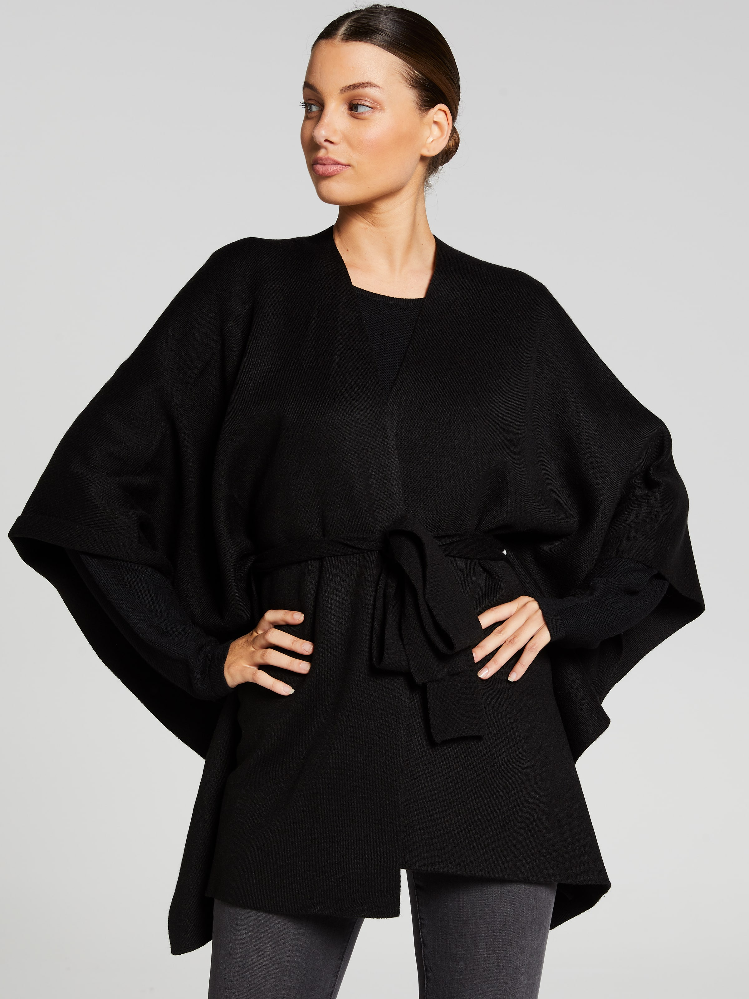 Image of Portmans Australia Portmans Belted Knit Wrap