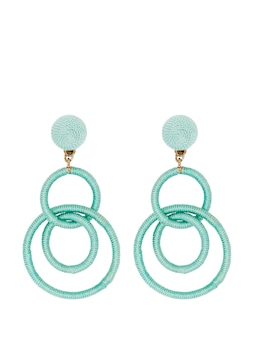 Ava Wrapped Rings Earring