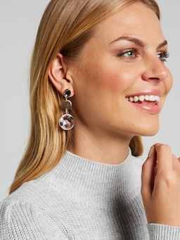 Darcy Tort Drop Earring