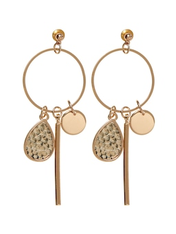 Simone Inlay Drop Earring