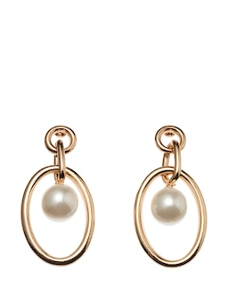 Leigh Linked Pearl Earring