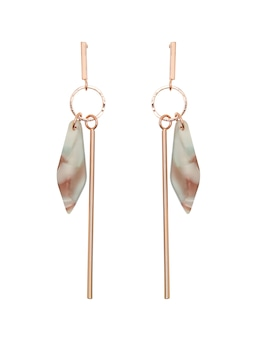 Lily Linear Tort Earring