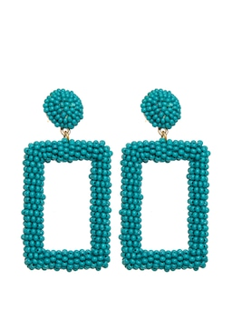 Jade Beaded Earring