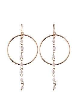 Elise Bead And Ring Earring