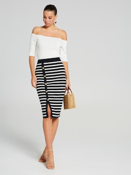 Kaylee Stripe Skirt
