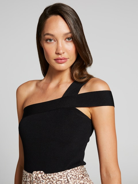 Ashanti One Shoulder Milano Tank by Portmans