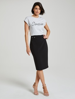 Amour Sequin Tee