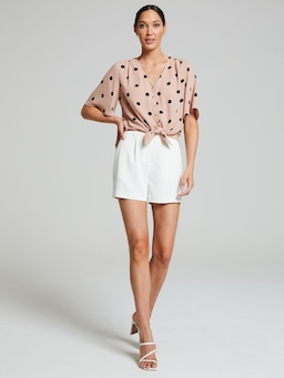 Kelly Knot Front Top