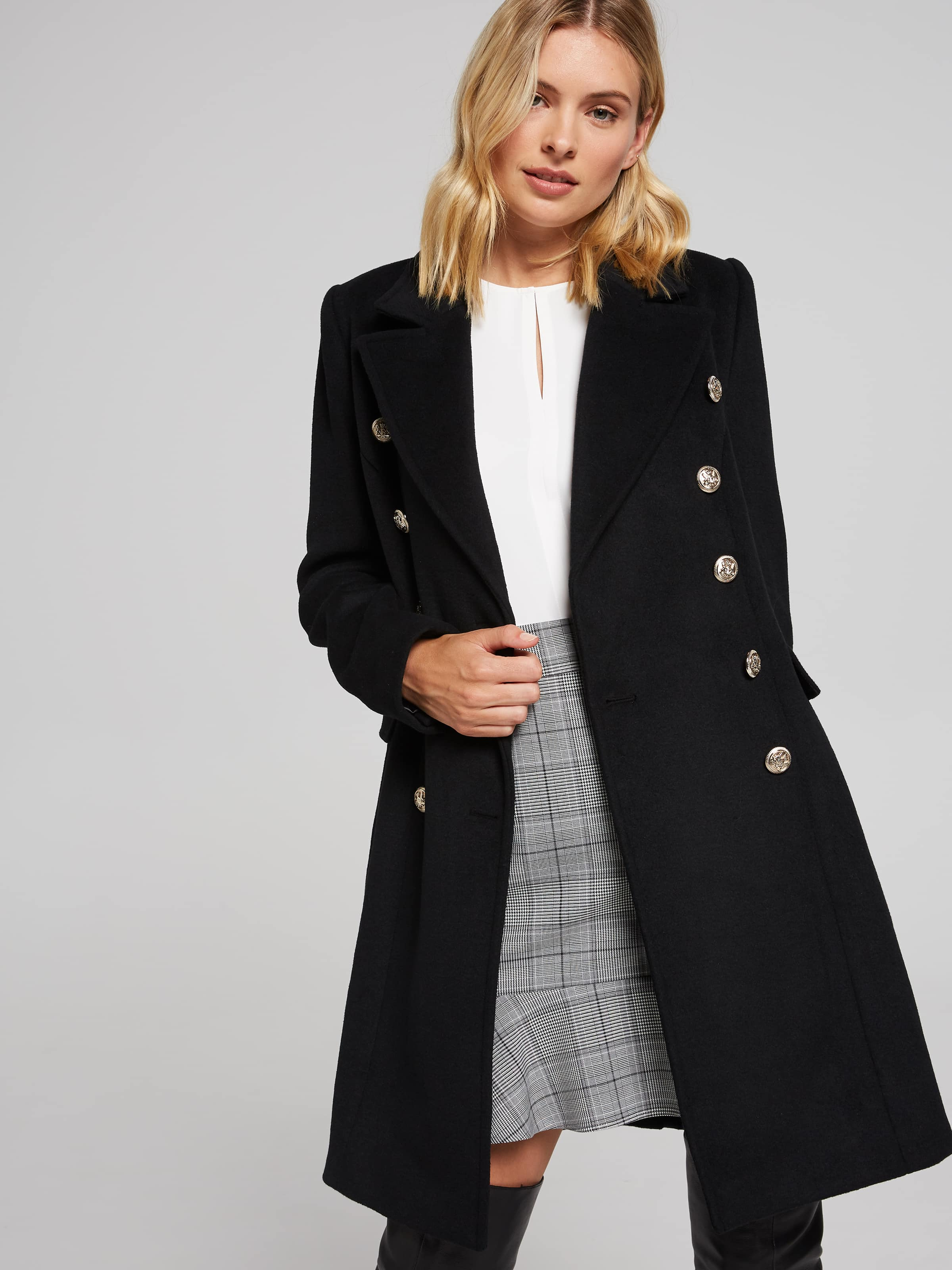 Image of Portmans Australia Portmans Berlin Button Coat