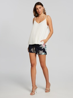 On Point Pleated Cami