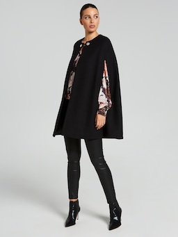 Chelsea Printed Wrap Top