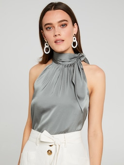 Bettina Tie Neck Top