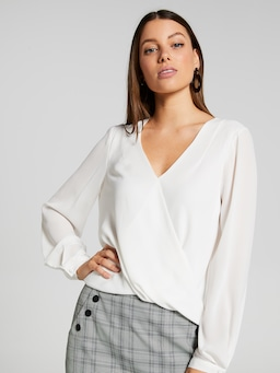Candice Wrap Top
