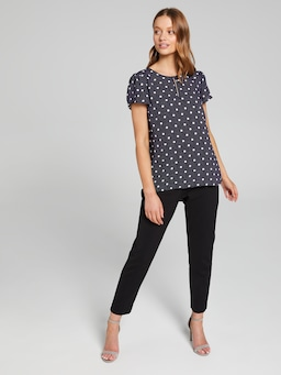 Kiera Petal Sleeve Top