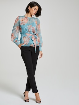 Juliette Trim Insert Blouse