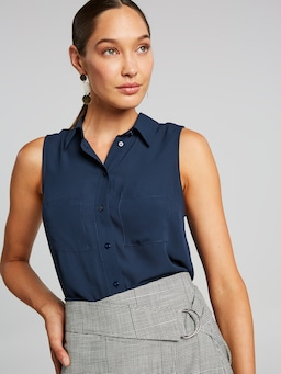 Jodi Sleeveless Shirt