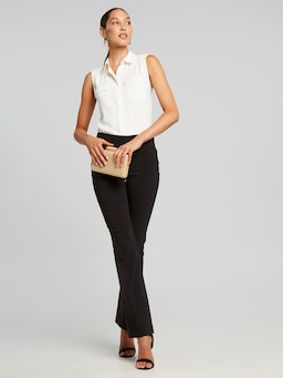 Ivy Sleeveless Pocket Shirt