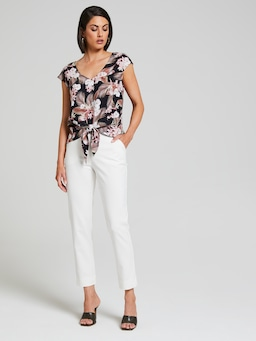 Tilly Knot Front Top