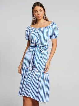 Santorini Stripe Dress