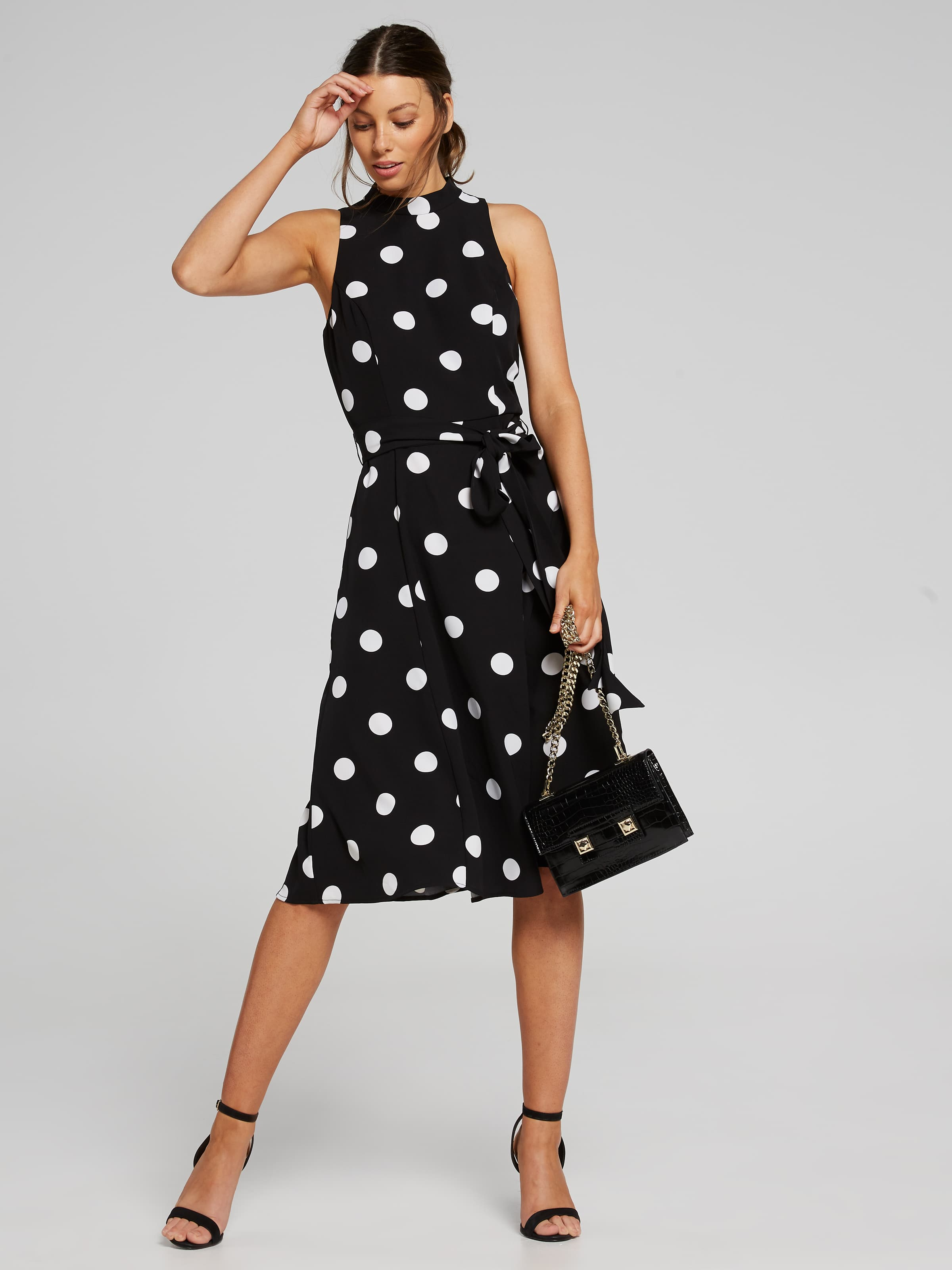 c54386fd1e9d ... Image for Perfect Polka Dot Midi Dress from Portmans ...