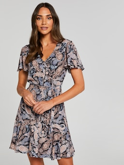 Sierra Button Front Dress