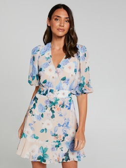 Tilly Buckle V Neck Dress