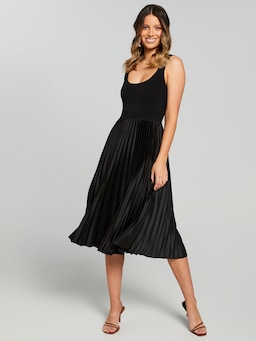 Charlotte Milano Pleated Dress