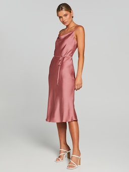 Coco Satin Slip Dress