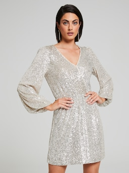 First Dance Sequin Dress