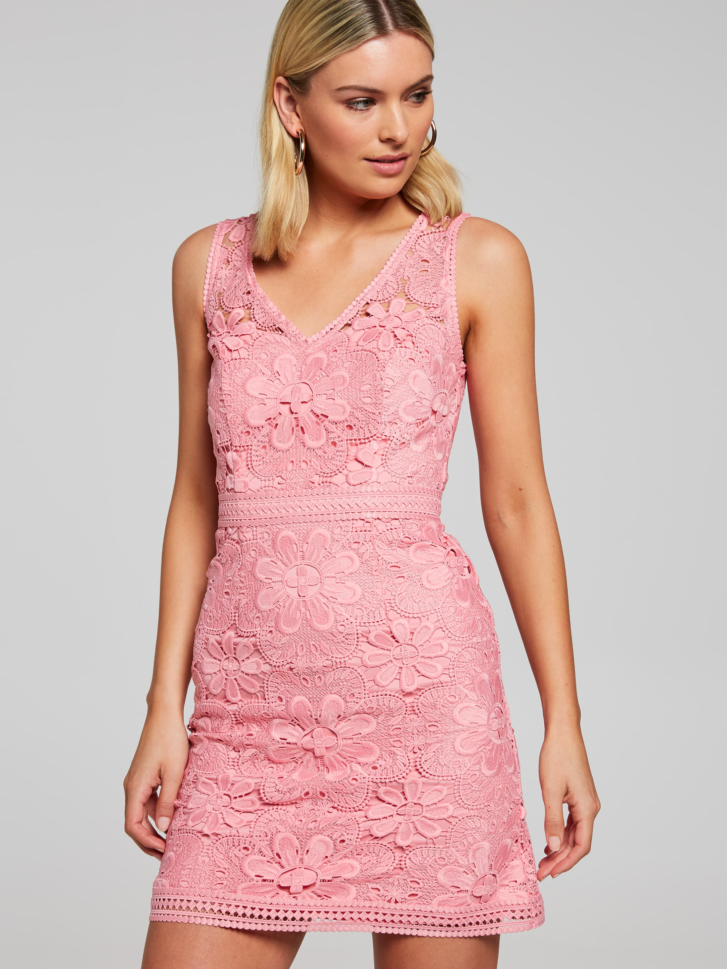 66425124b27 Image for Ariel Lace Mini Dress from Portmans Online ...