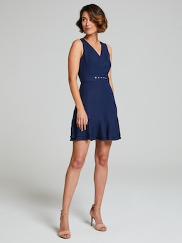 Luella V Neck Dress