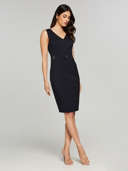 The 9 To 5 Navy Suit Dress