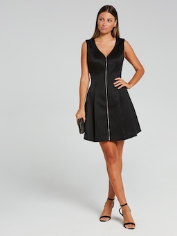 Roll With It Fit & Flare Dress